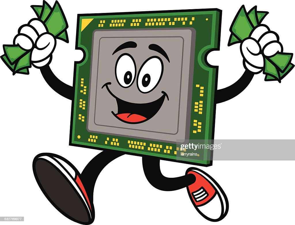 Computer Processor with Money