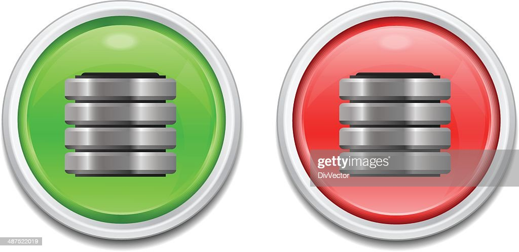 Computer Server Icon stock vector - Getty Images