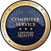 Computer Service Gold Badge