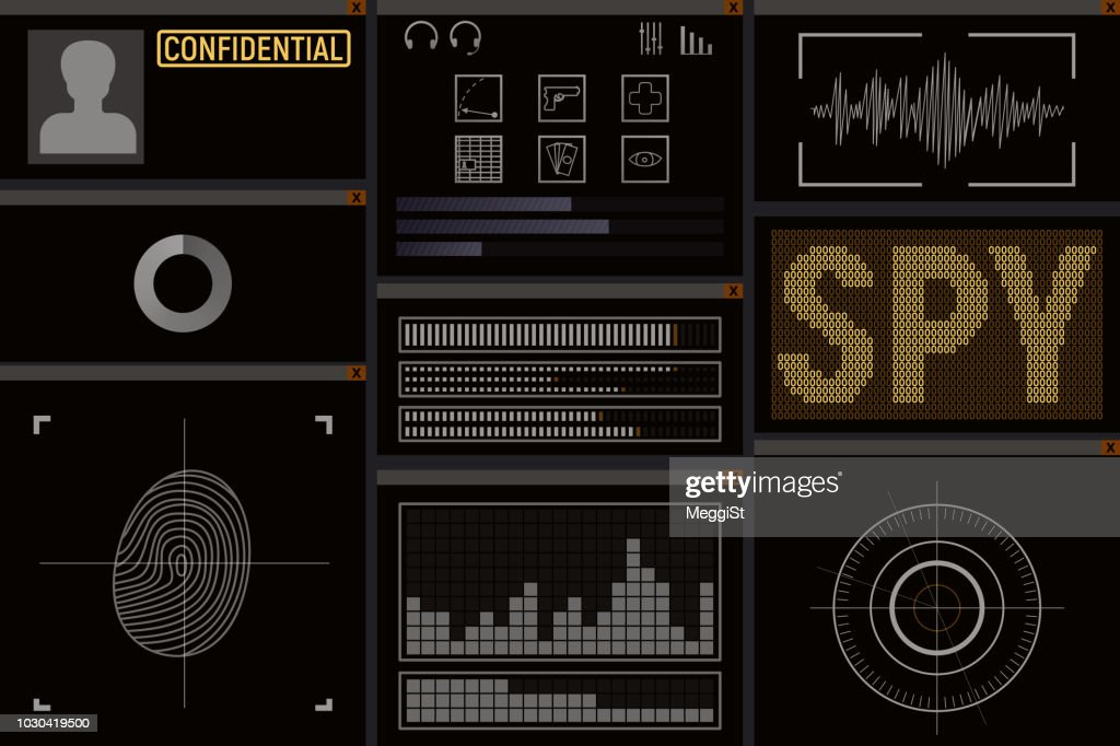 Computer software for the spy.