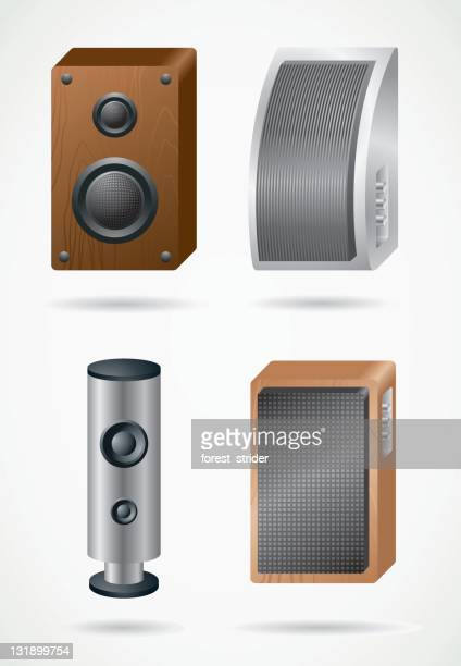 Computer speakers icons