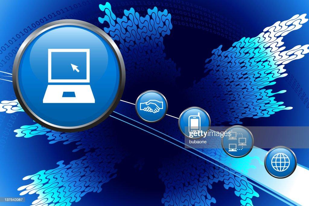 Computer Technology Background : stock illustration