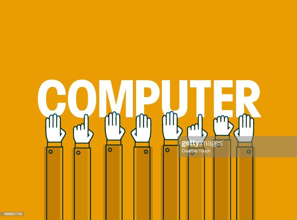 Computer  : Stock-Illustration