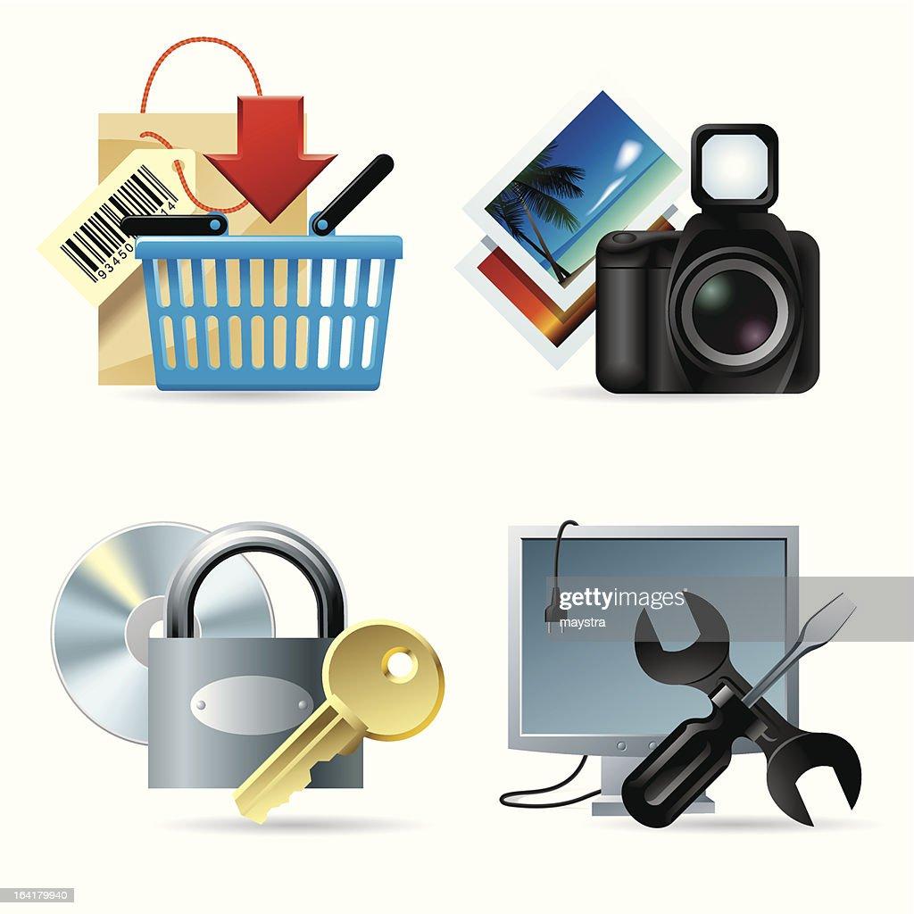 Computer & web icons II
