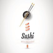 Concept design of the invitation sushi restaurant
