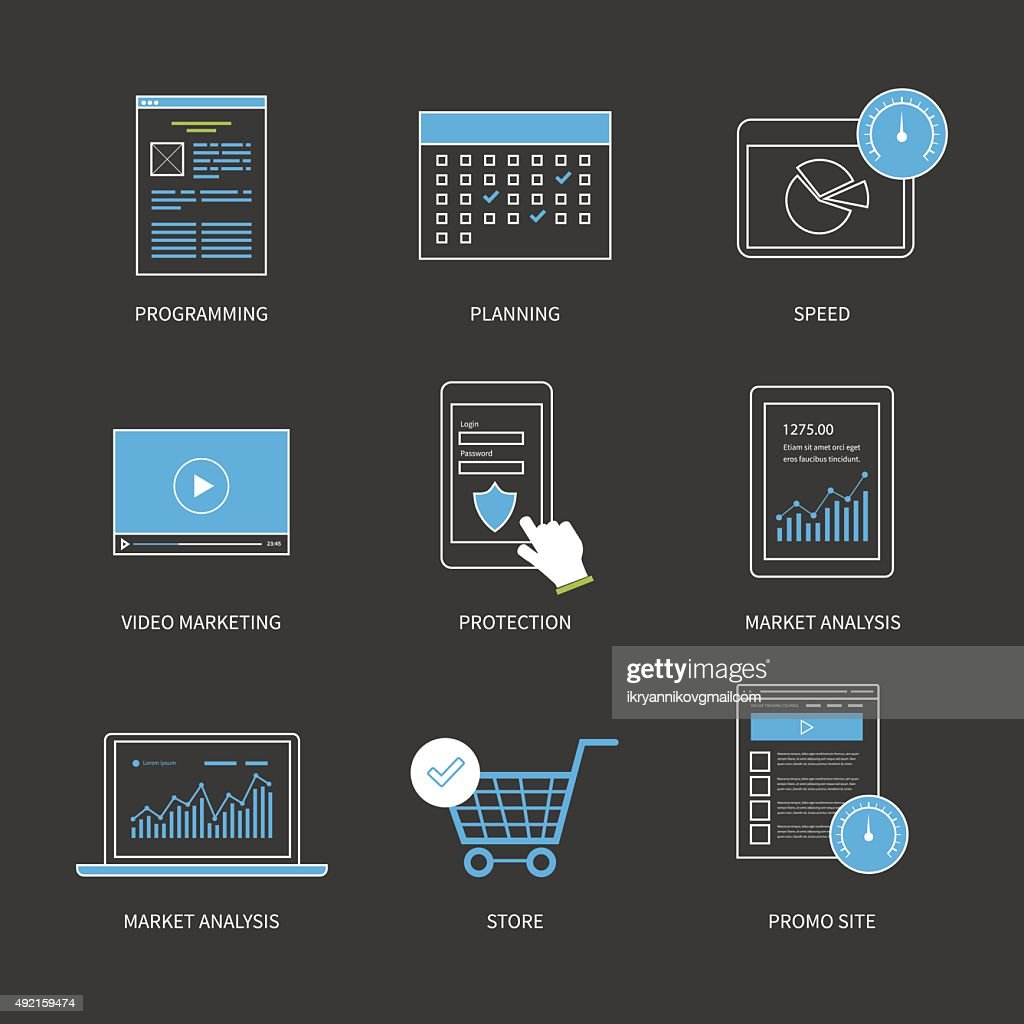 Concept for delivery, programming, mobile marketing, market research, protection