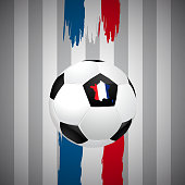 Concept for Euro 2016 France football championship