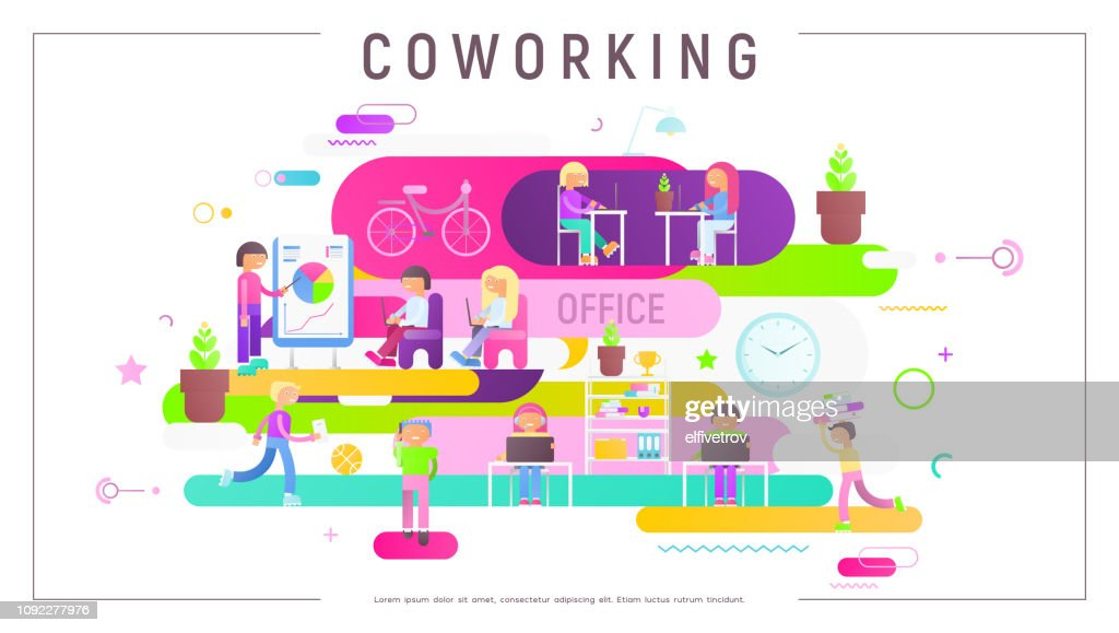 Concept of Coworking Center