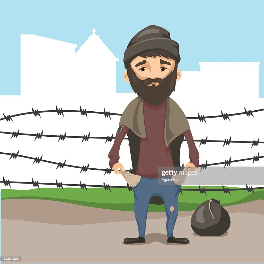 Concept of refugees