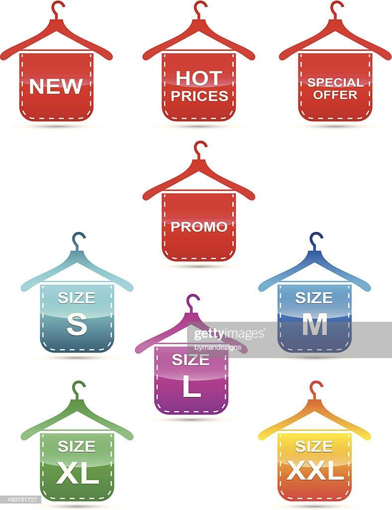 concept size tag set