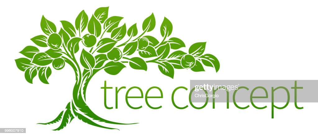 Conceptual Apple Tree