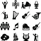 Concert Icons - Black Series