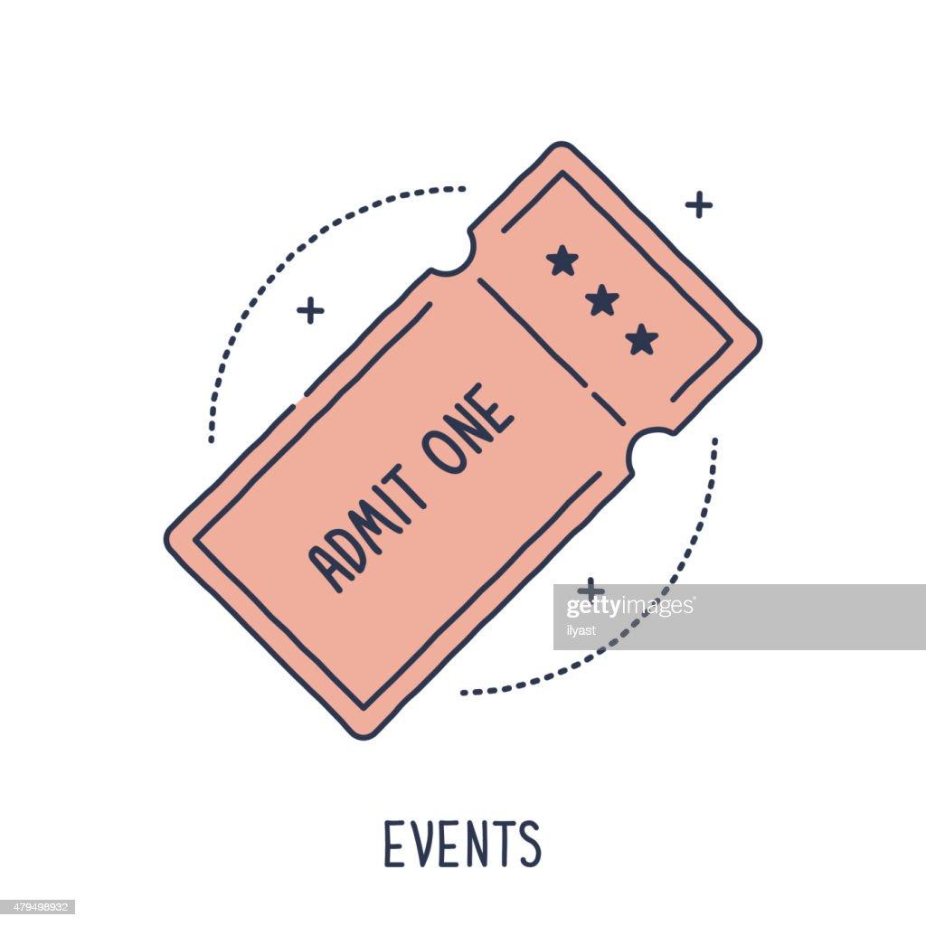 Concert or Movie Ticket
