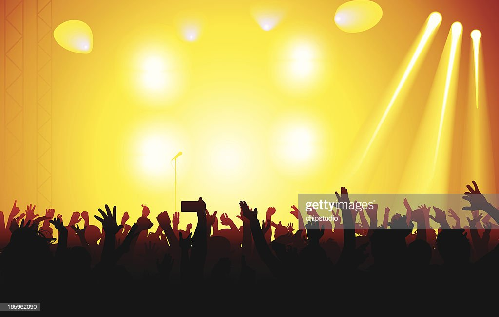 Concert : Stock Illustration