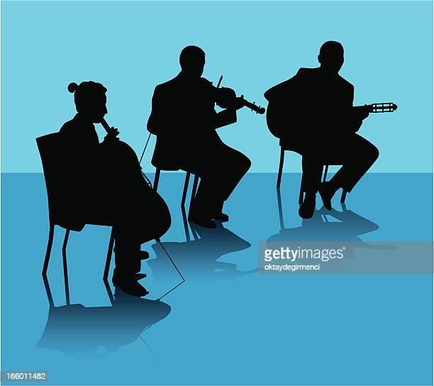 concert - bass instrument stock illustrations, clip art, cartoons, & icons