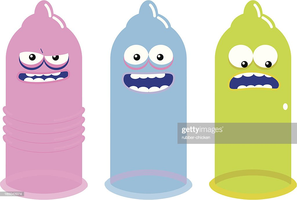 condoms : stock illustration