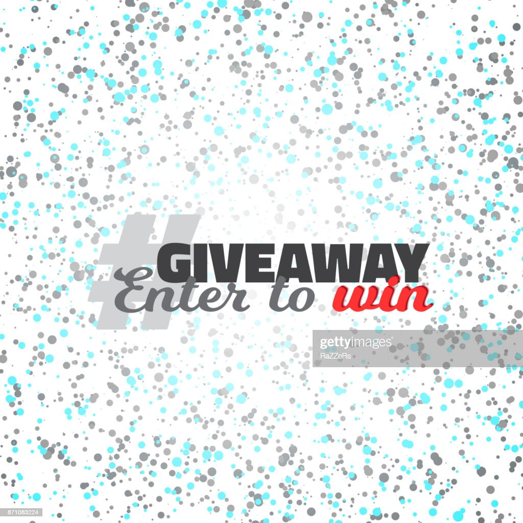 Confetti Giveaway Competition Template