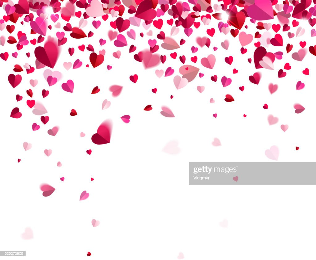 Confetti of hearts