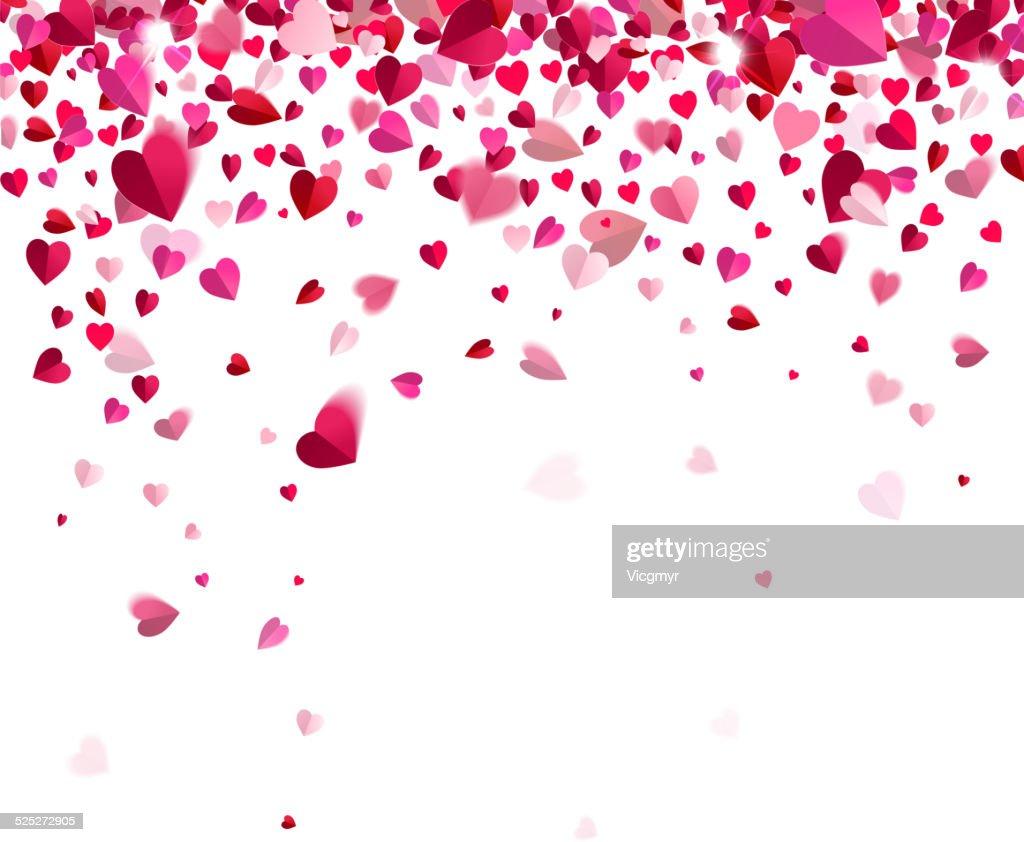 Confetti of hearts