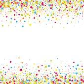 Confetti  vector background