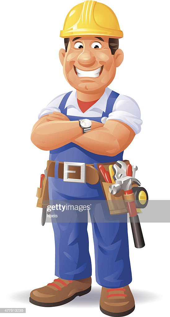 construction worker stock illustrations and cartoons getty images