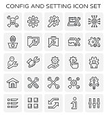 config setting icon