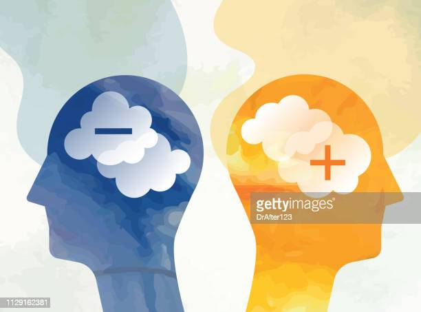 conflict concept - negative emotion stock illustrations