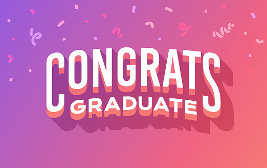 Congrats Graduate Graduation Message - gettyimageskorea