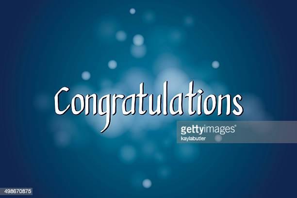 ilustraciones, imágenes clip art, dibujos animados e iconos de stock de ¡felicitaciones caligrafía - felicitar