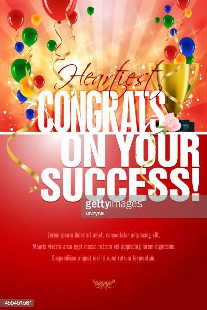 congratulations card - congratulating stock illustrations, clip art, cartoons, & icons