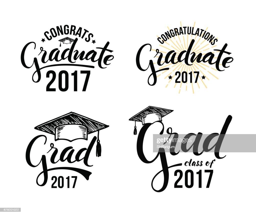 Congratulations graduate 2017