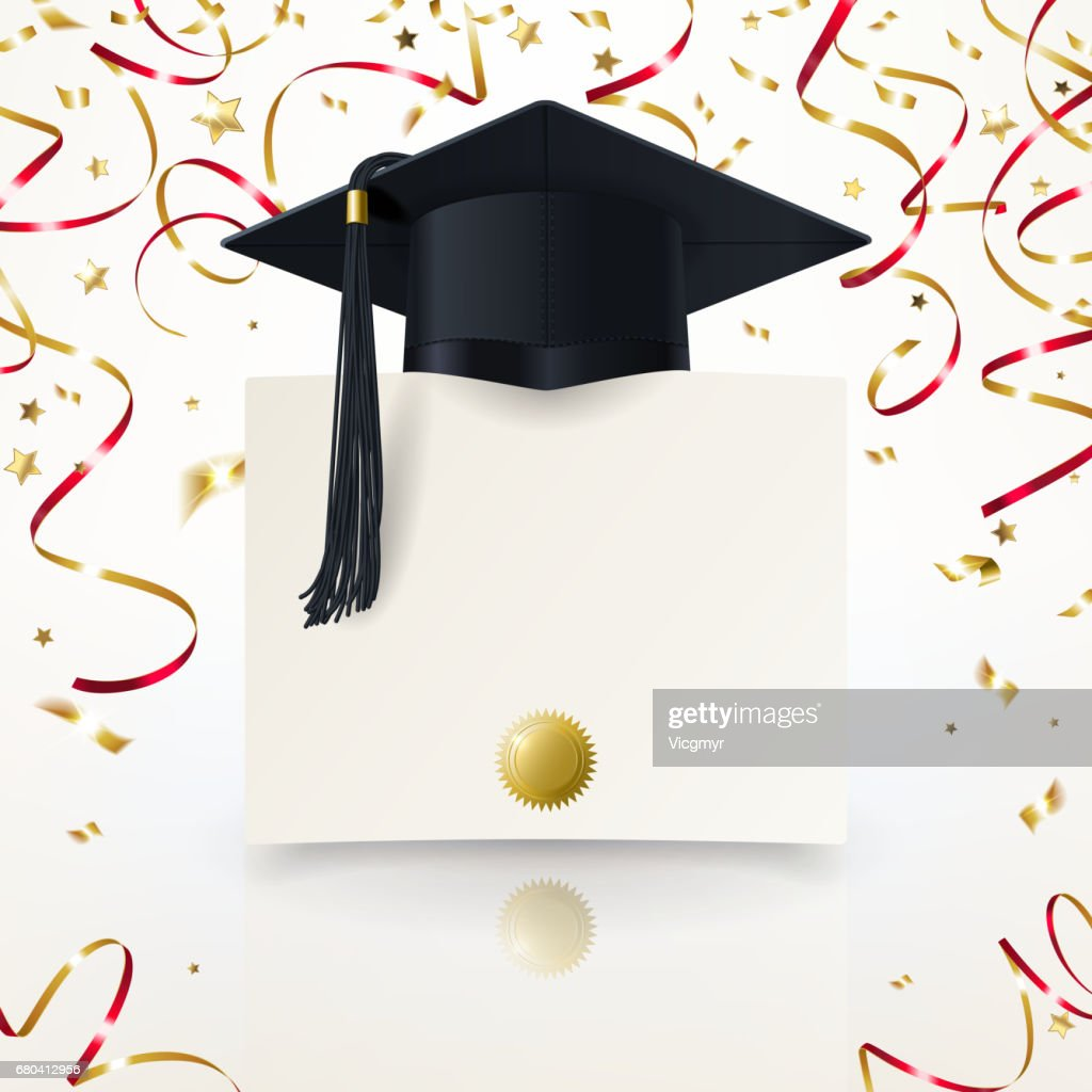 Congratulatory Background on Graduation