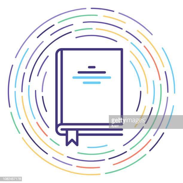 congress legislations line icon illustration - closed stock illustrations, clip art, cartoons, & icons