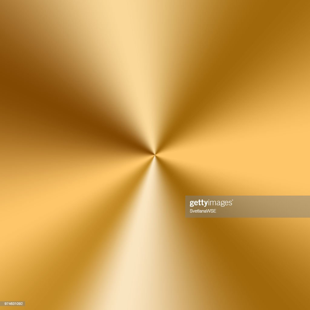 Conical golden gradient