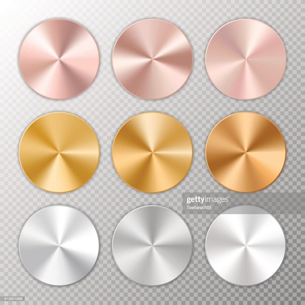 Conical metal gradients