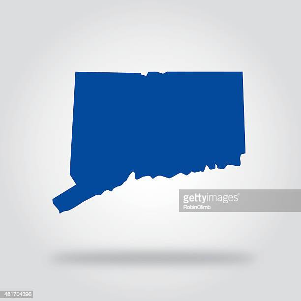 Connecticut Blue State Icon