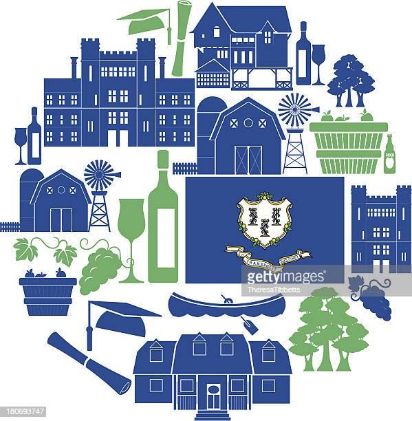 Connecticut Icon Set