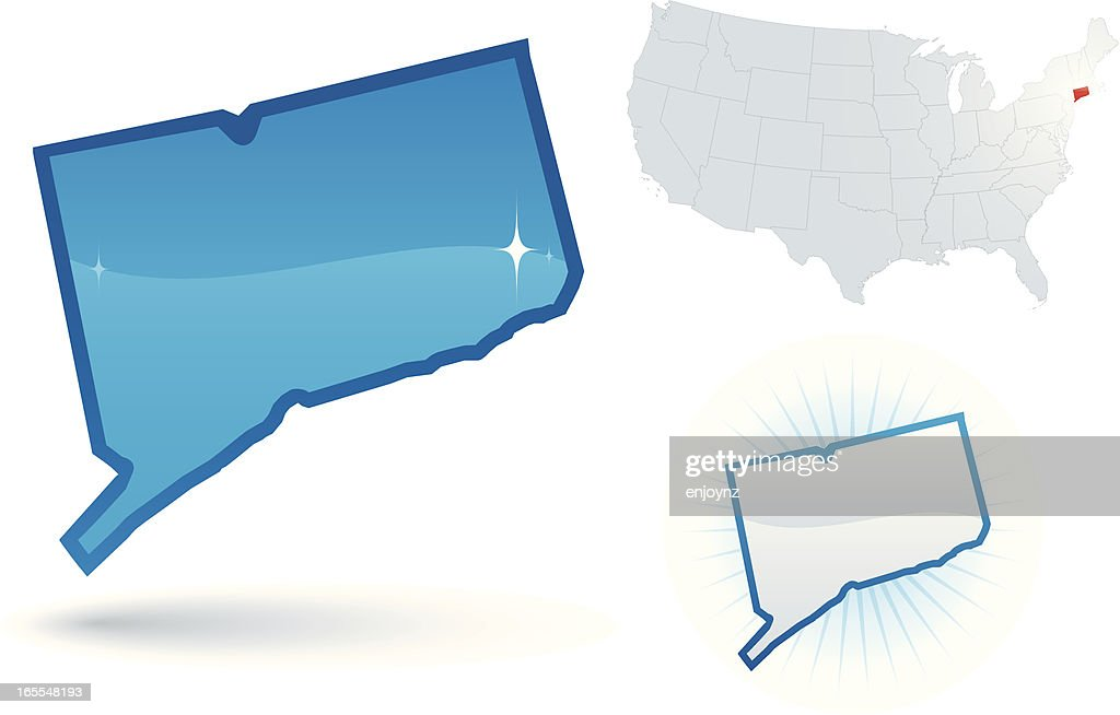 Connecticut State : stock illustration