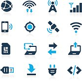 Connectivity Icons // Azure Series