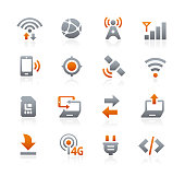 Connectivity Icons // Graphite Series