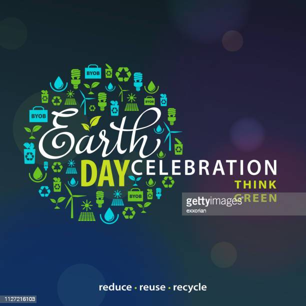 conservation for earth day - earth day stock illustrations