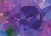consisting technology polygonal background