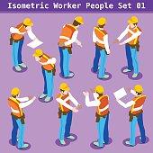 Construction 01 People Isometric
