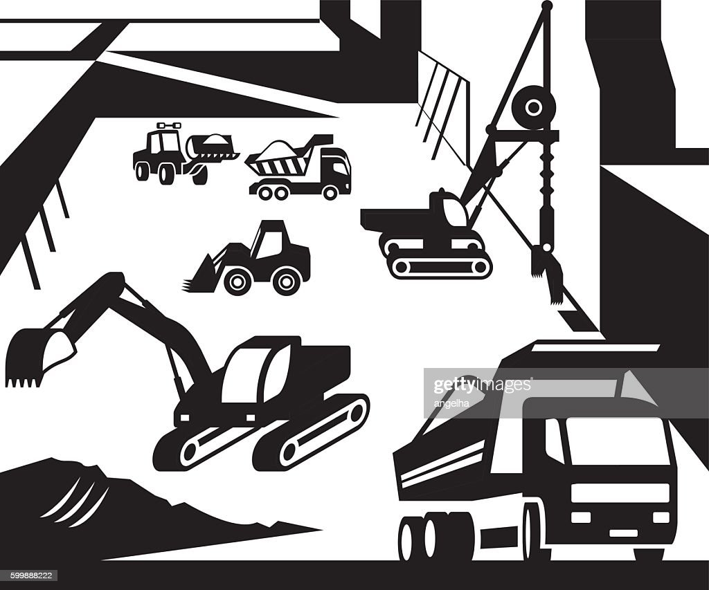 Construction and excavation machinery