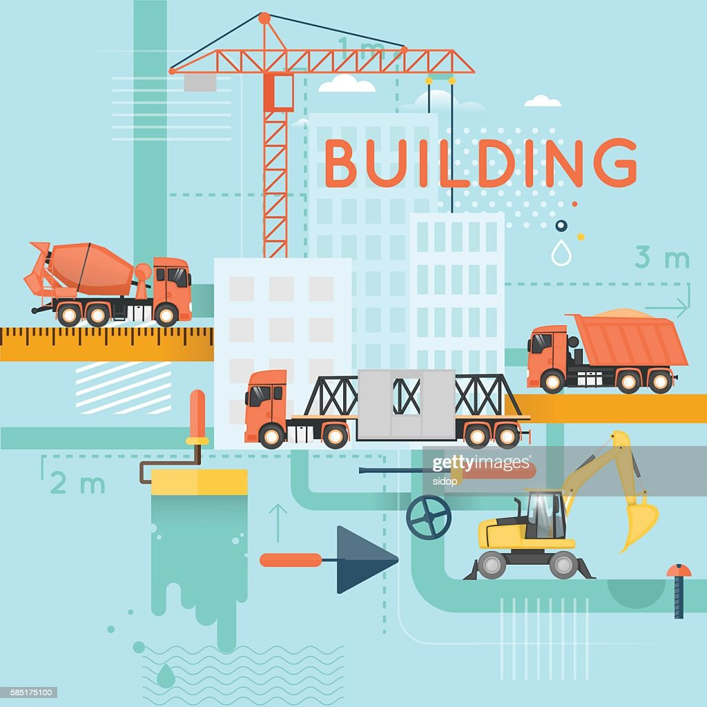 Construction. Building a house, repair work. Real estate.