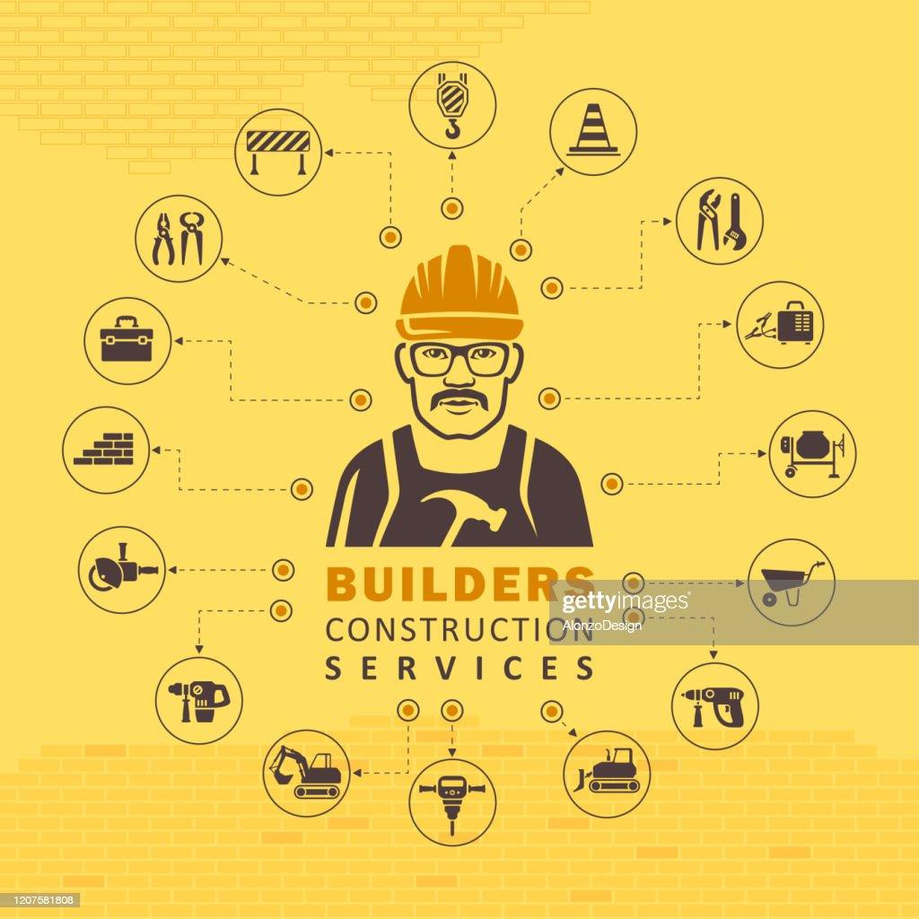 Construction Concept. : Stock Illustration