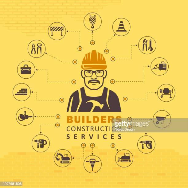 建設コンセプト。 - ホームページ点のイラスト素材/クリップアート素材/マンガ素材/アイコン素材