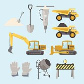 Construction equipment and machinery