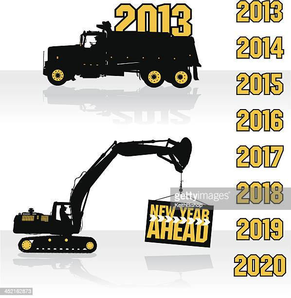 Construction Equipment, New Year - Coming in, Going Out