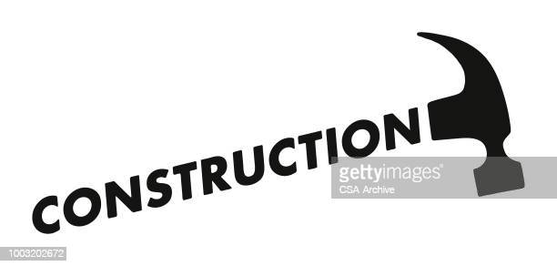 construction hammer - carpenter stock illustrations